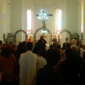 Cuvant de multumire la sfarsitul liturghiei