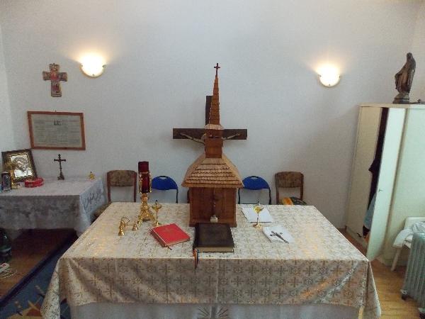 Brăila – Parohia Nașterea Maicii Domnului - Altar 1