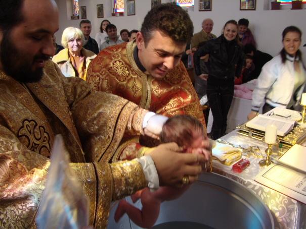Botezul micutei Maria