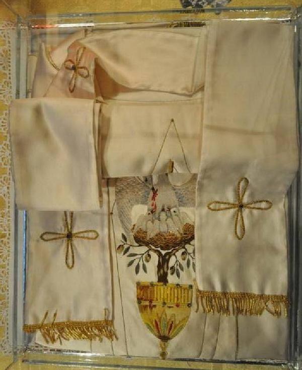 Vesminte liturgice care au apartinut Fericitului Papa Ioan Paul al II-lea