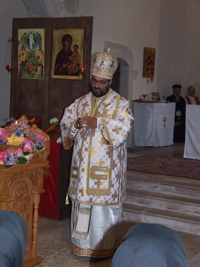 PS Mihai, la Mănăstirea St. Elie de la St. Remy-le-Montbard (Franța)