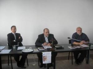 Pr Dr Anton Rus, Calin Diaconu, Pr Dr Ioan Mitrofan