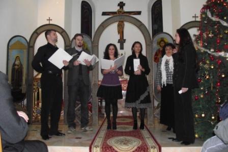 Serbare de Crăciun în Parohia Română Unită din Râmicu Vâlcea