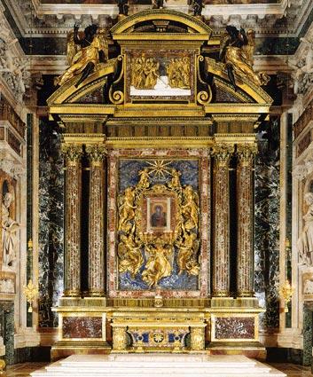 Altare Salus Populi Romani Cappella Borghese