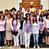Elevi ai Liceului greco-catolic Timotei Cipariu