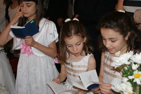 In timpul liturghiei