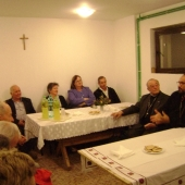 Intalnire cu pelerinii din Dieceza de la Bourges