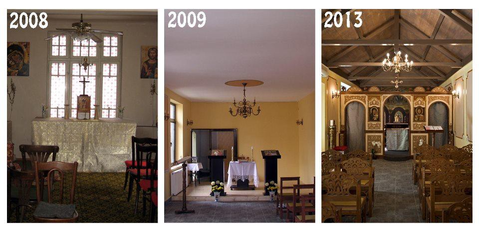 """Capela """"Schimbarea la Faţă"""" de-a lungul timpului"""