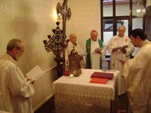 Liturghie cu pelerinii din Dieceza de la Bourges