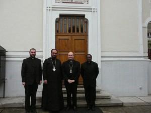 Vizita Cardinalului Gianfranco Ravasi la Vicariatul greco-catolic de București