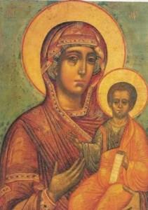 Maica Domnului cu pruncul Isus