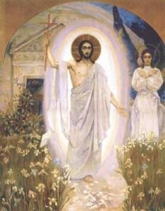 Mikhail Nsterov - Invierea lui Hristos, sfârșitul anilor 1890