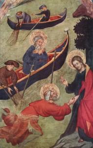 Luis Borrassa – Isus îl salvează pe Petru din ape